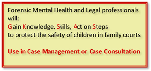 Forensic Mental Health and Legal Professionals gain